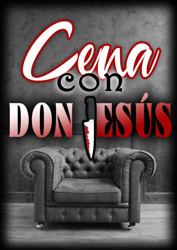 Cartel Cena Don Jesús nuevo - Start Play