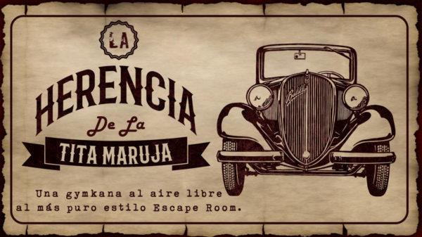 Cartel La Herencia de la Tita Maruja - Start Play