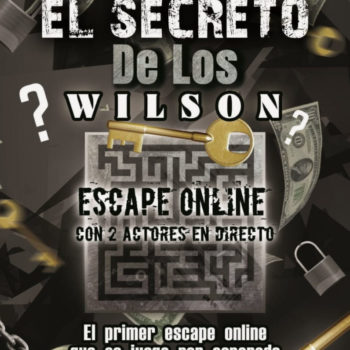 Cartel El Secreto de Los Wilson - Start Play